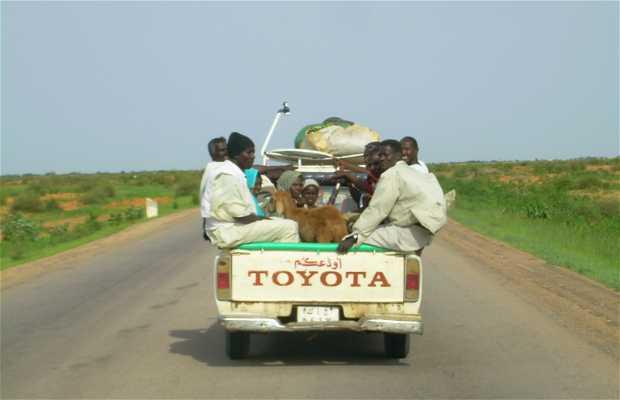 Carreteras Sudán
