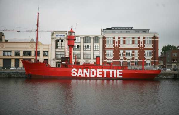 Bateau feu Sandettié