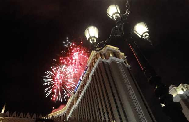 Fuegos Artificiales en Las Vegas