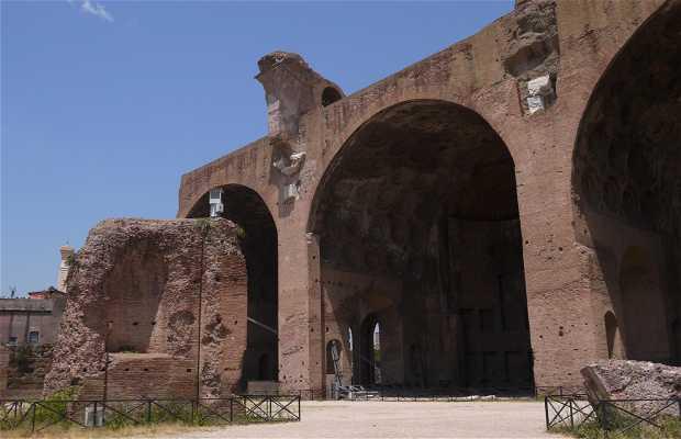 La Basilique de Maxence et Constantin