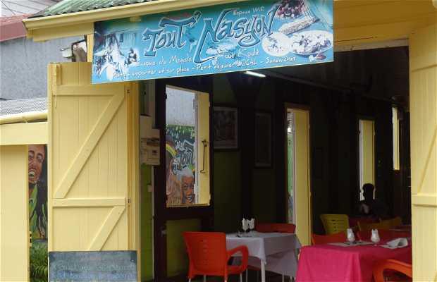 Restaurant tout nasyon