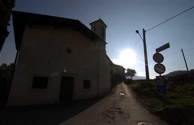 Iglesia de Sant'Anna, Ronzo-Chienis, Italia