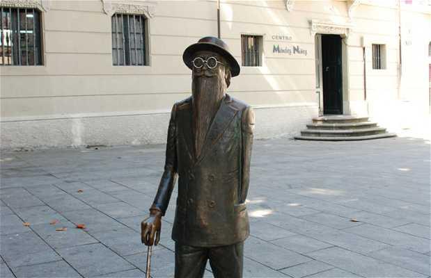 Escultura de Valle Inclán