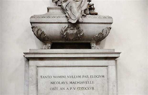 The Tomb of Machiavelli