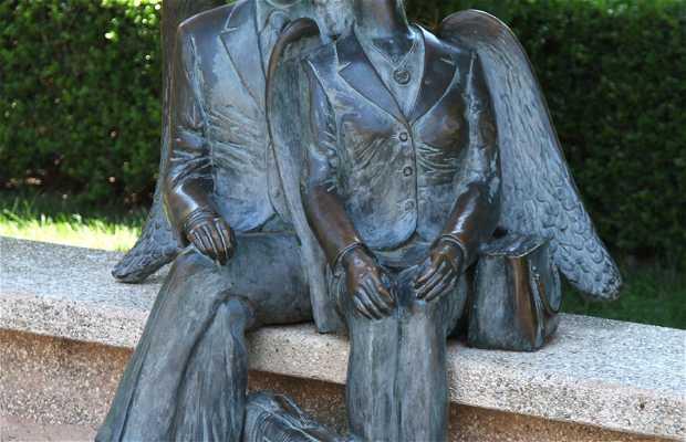 Estátua Amantes de Taormine