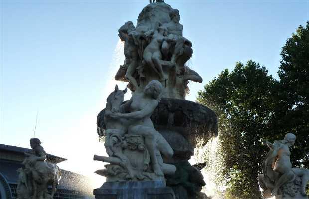 Quatre-Vallées Fountains