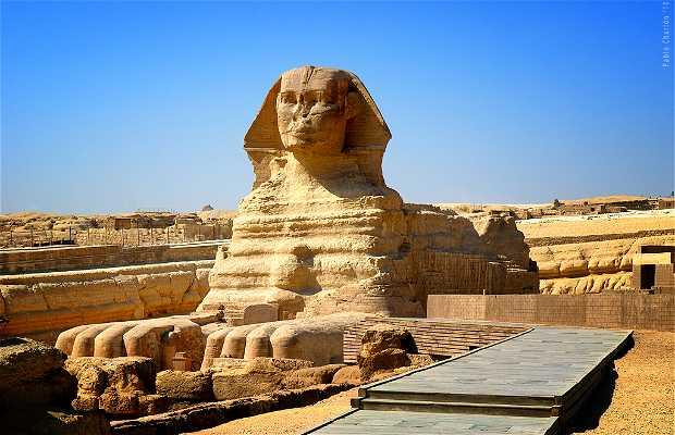 La sfinge egiziana di Giza