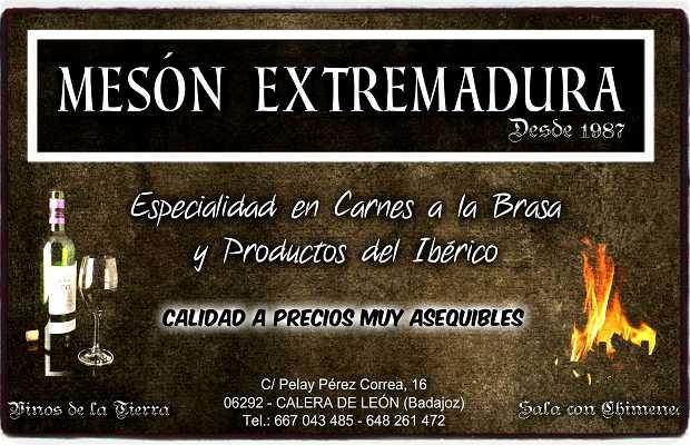 Mesón Extremadura, Calera de León