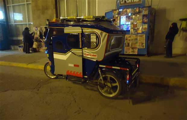 Taxi en Puno