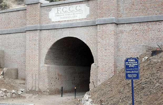 Túnel del ex Ferrocarril Patagónico