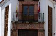 Párraga family house facade