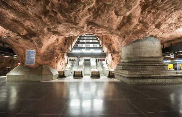 Estación del Metro Radhuset