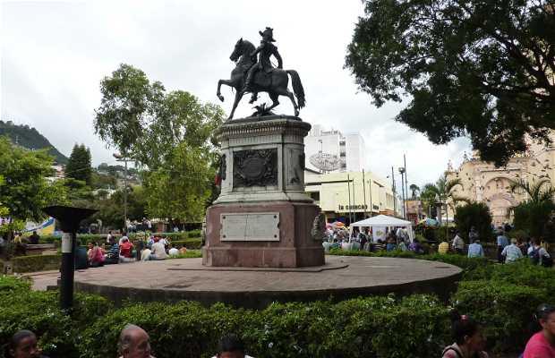 Plaza Central a Tegucigalpa, Honduras