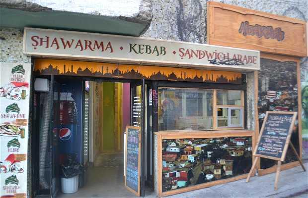 Abrakebab shawarmas y kebab.