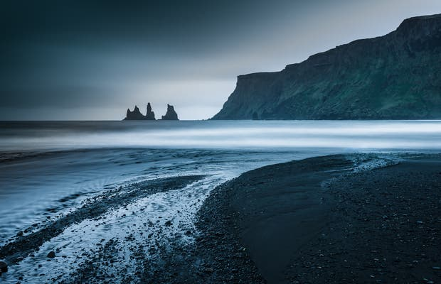 Playa de arena negra de Vík