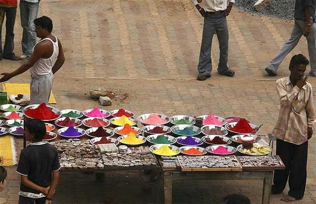 Mercadillo de polvos para el Bindi