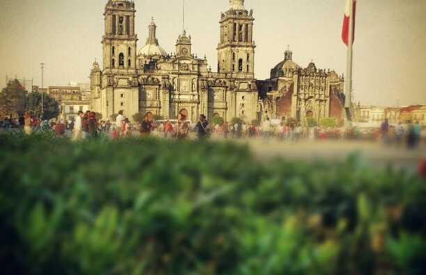 Il centro storico di Città del Messico