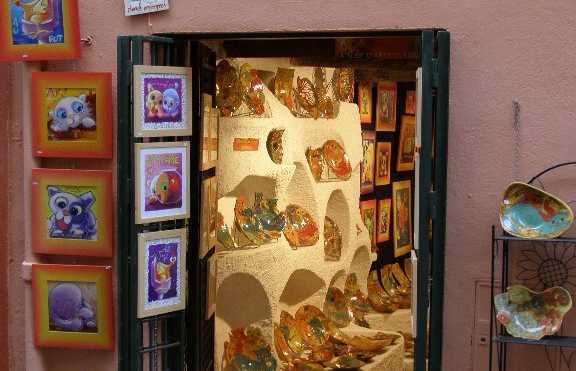 Artesanato em Collioure