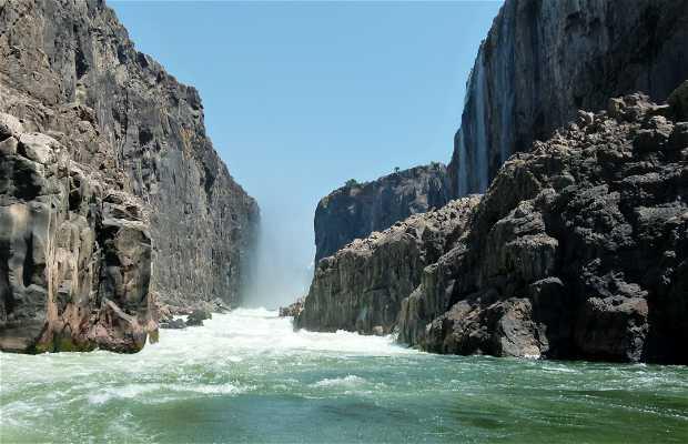 Excursión por la Falla del Zambeze