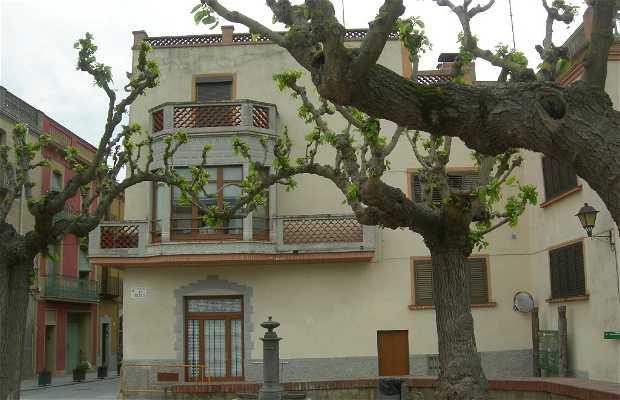 Piazza dels Bous a Hostalric