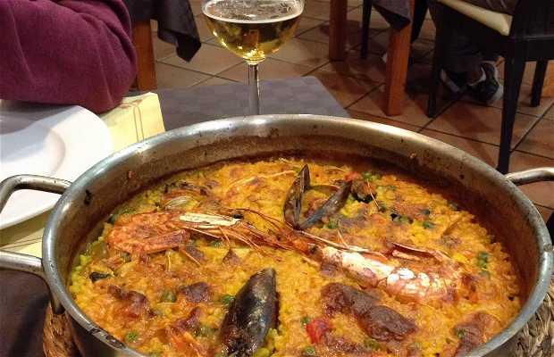 Restaurante Naveria en Baiona
