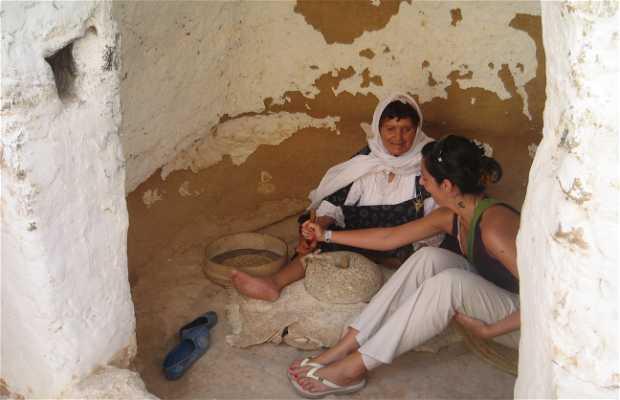 Moliendo trigo