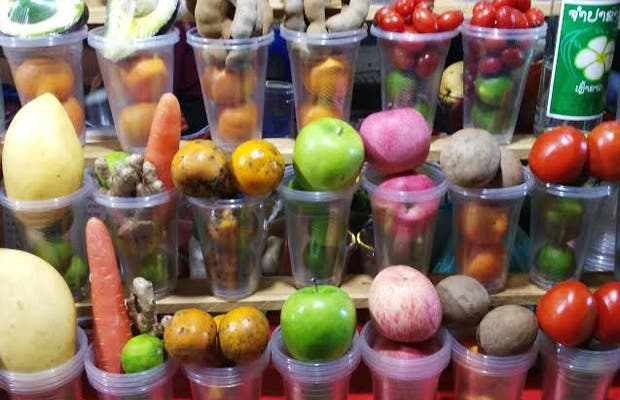 Zumos y smoothies en Night Market