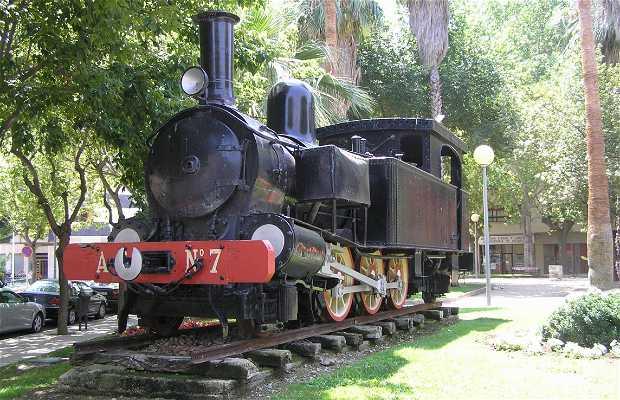 Locomotora nº 7 Ferrocarril Alcoy-Gandía
