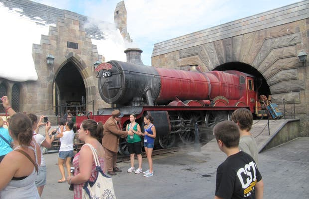 Attraction Harry Potter (Universal Studio)