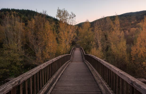 Mirador pasarela Castellfollit de la Roca