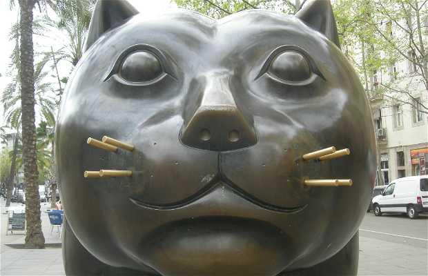 Le chat de Botero