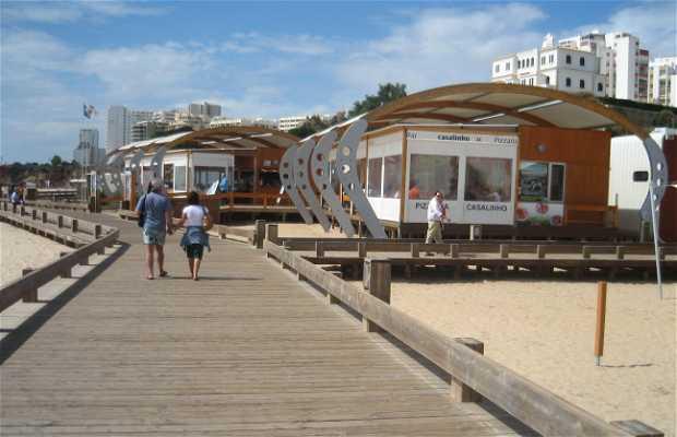Restaurantes na Praia da Rocha