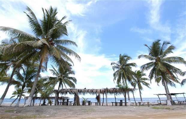 Poblado Garifuna en Puerto Cortes