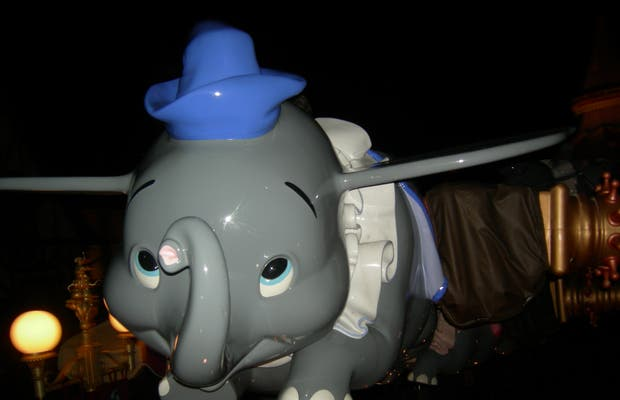 Dumbo, the flying elephant