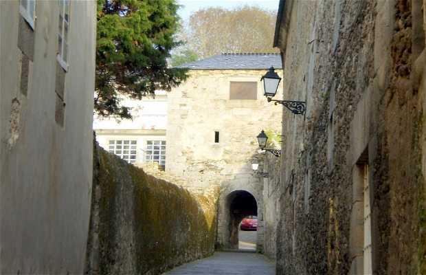 Calexa das Monxas - Calle de las Monjas