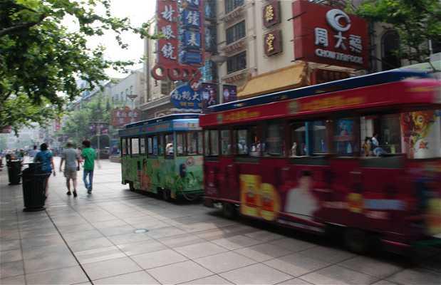 Trenes turísticos en Shanghai