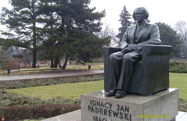 Monumento a Ignacy Jan Paderewski