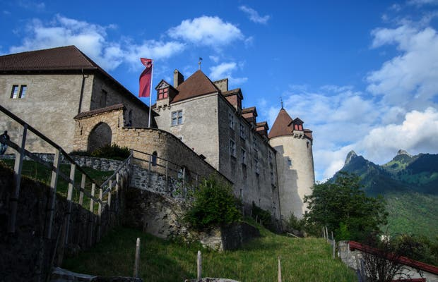 Castillo de Gruyeres