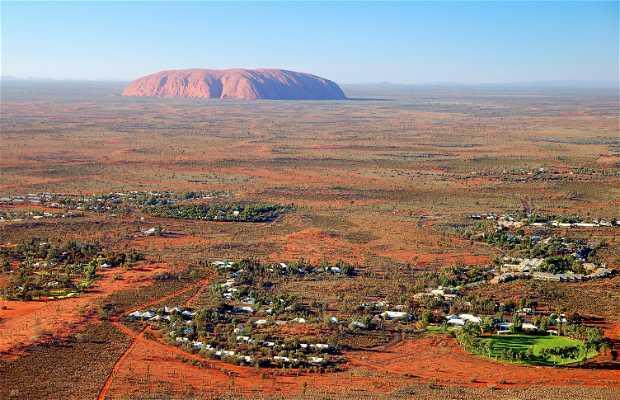 Sobrevuelo de Uluru en helicóptero