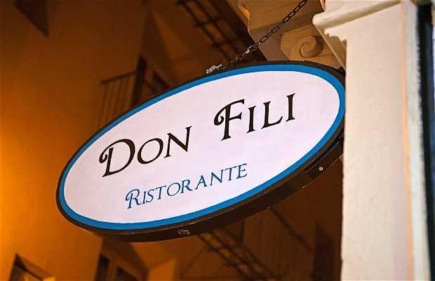 Ristorante Don Fili