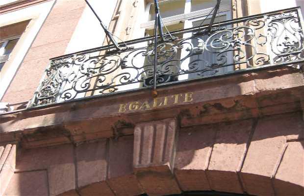 L'hôtel de ville de Colmar