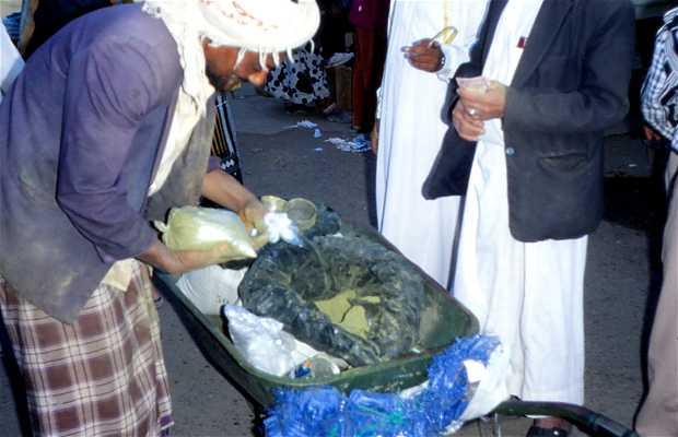 Marché de Sanaa