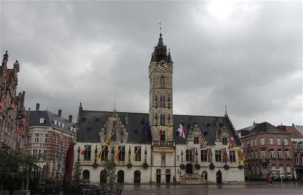 Stadhuis y Torre Belfort