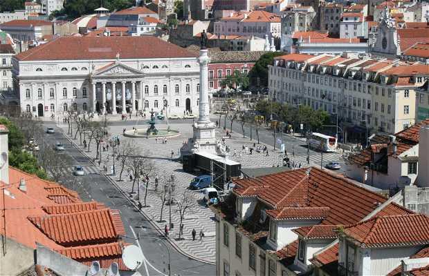 Praça de D. Pedro IV - Praça do Rossio