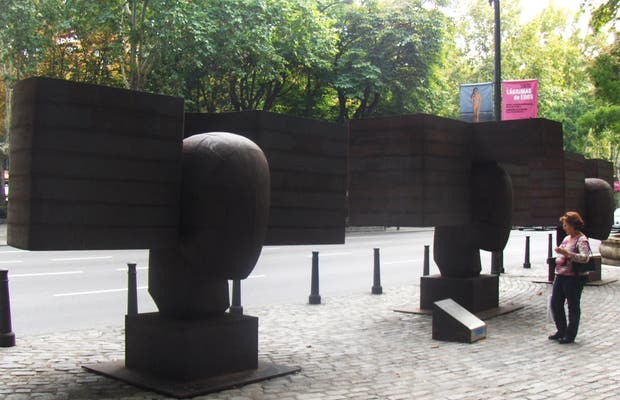 Esculturas de Manolo Valdés