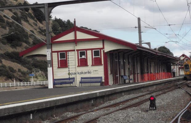 Train Côtier Wellington-Paraparaumu