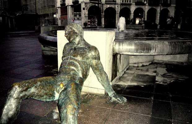 La fuente de la plaza de la Rinconada