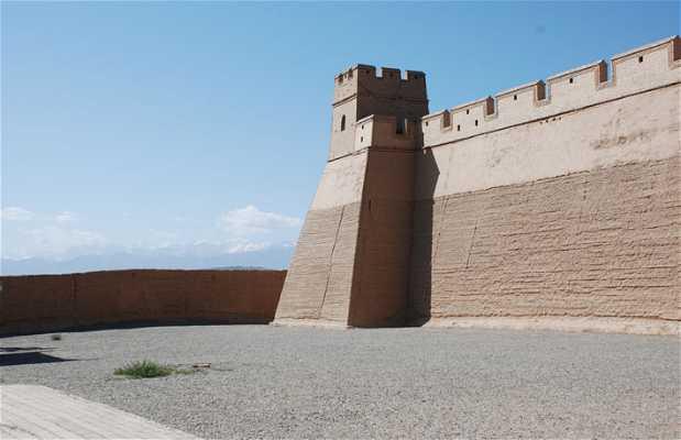 Gran Muralla China en Jiayuguan
