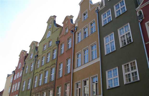 Calle Długa y Długi Targ