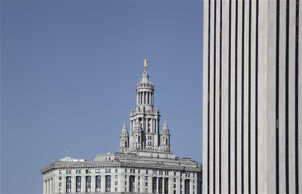 downtown, new york, usa